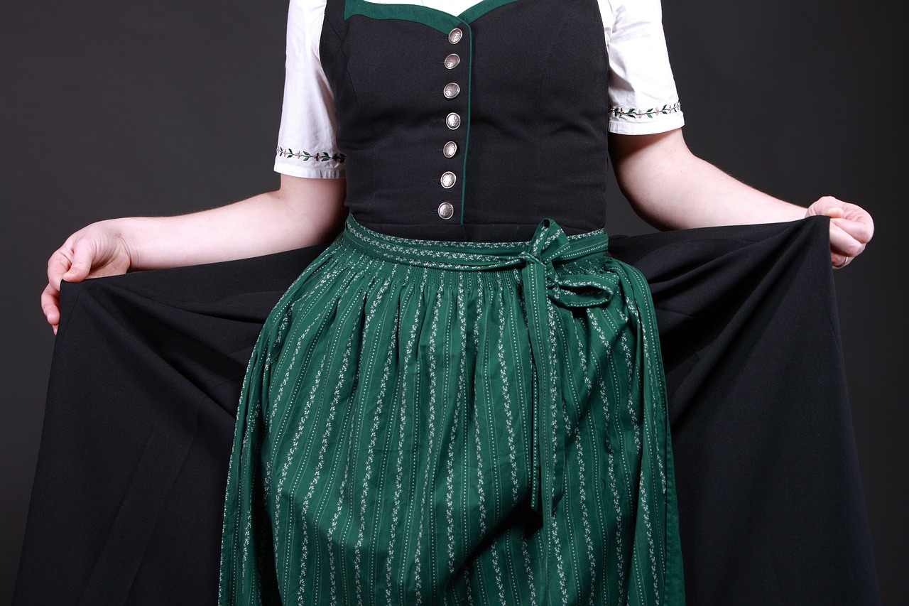 costume, dirndl, tradition