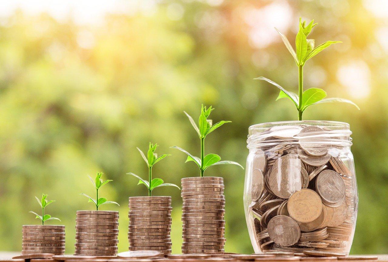 お金、硬貨、投資