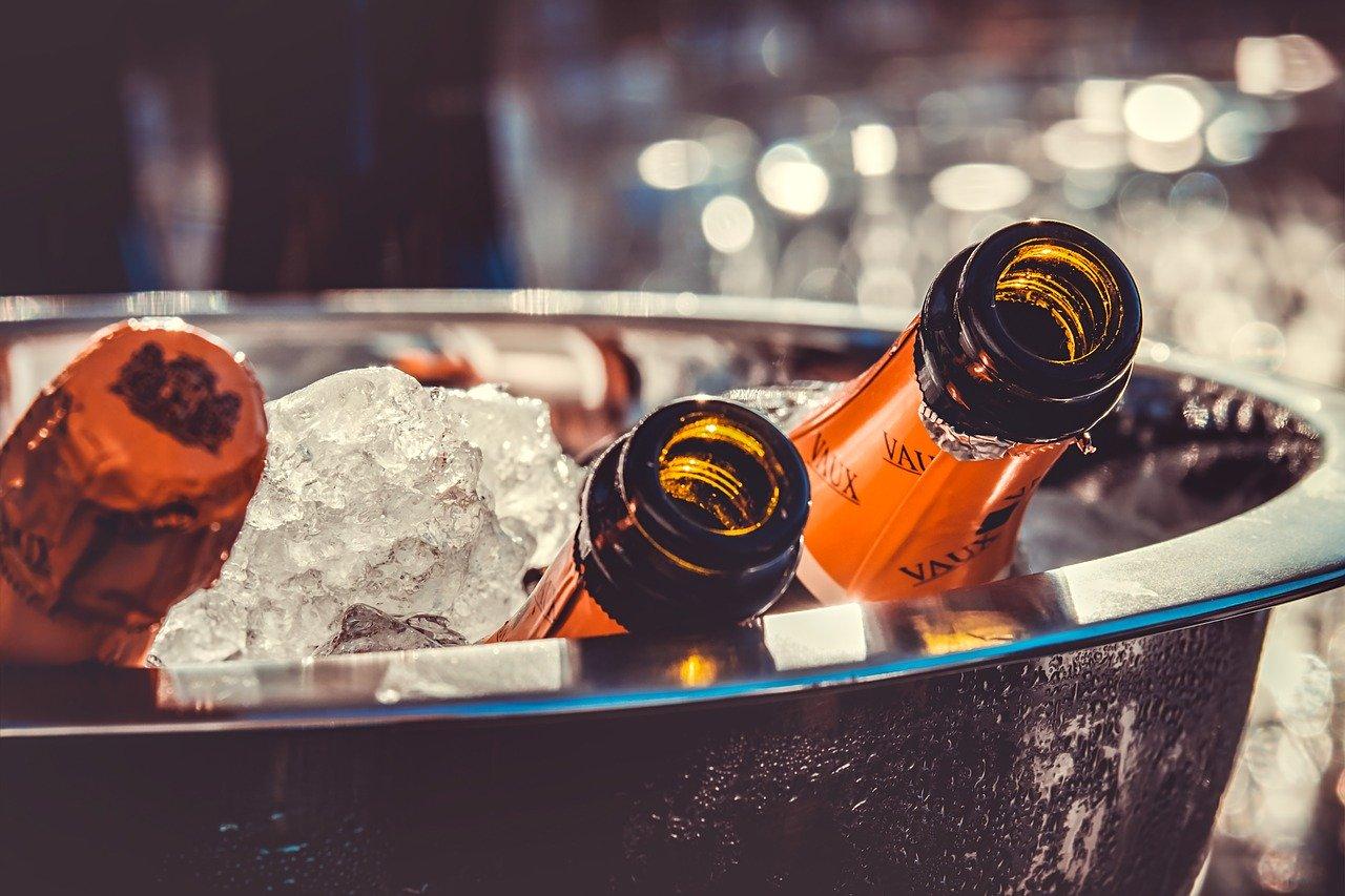 シャンパン 、氷