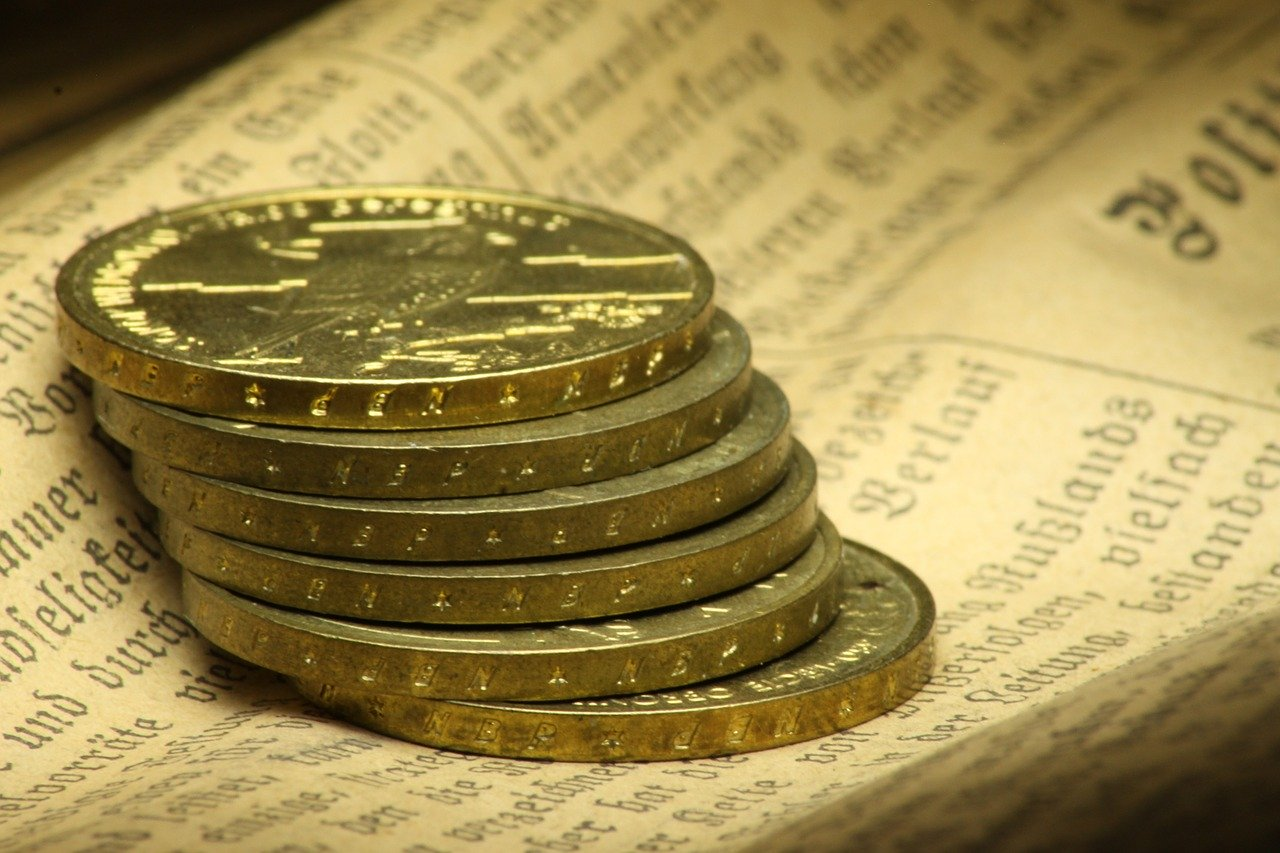 gold, coins, currency