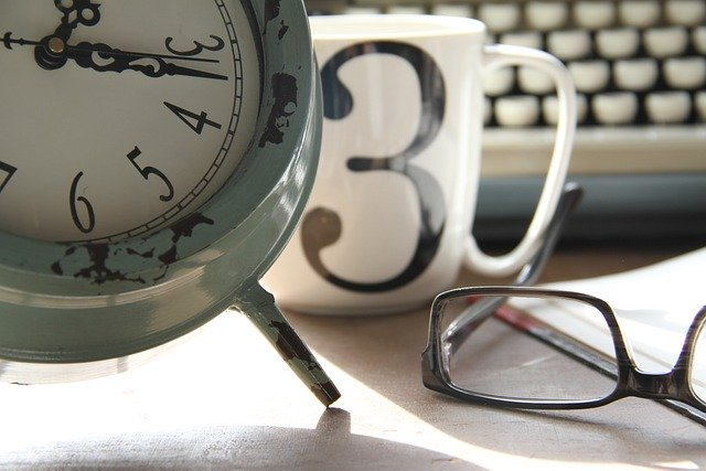 時計とメガネ