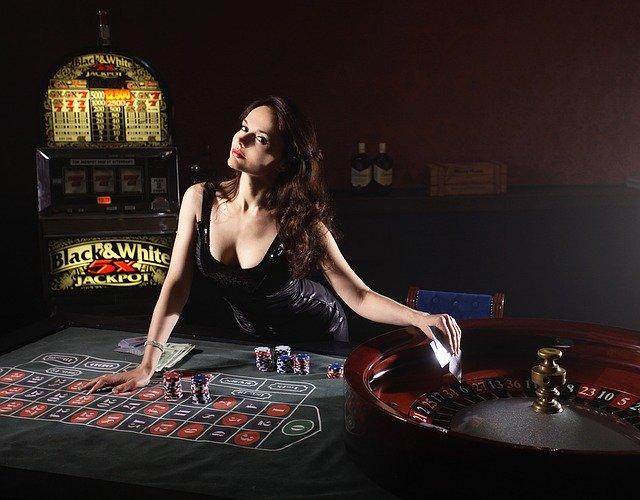 カジノの美人