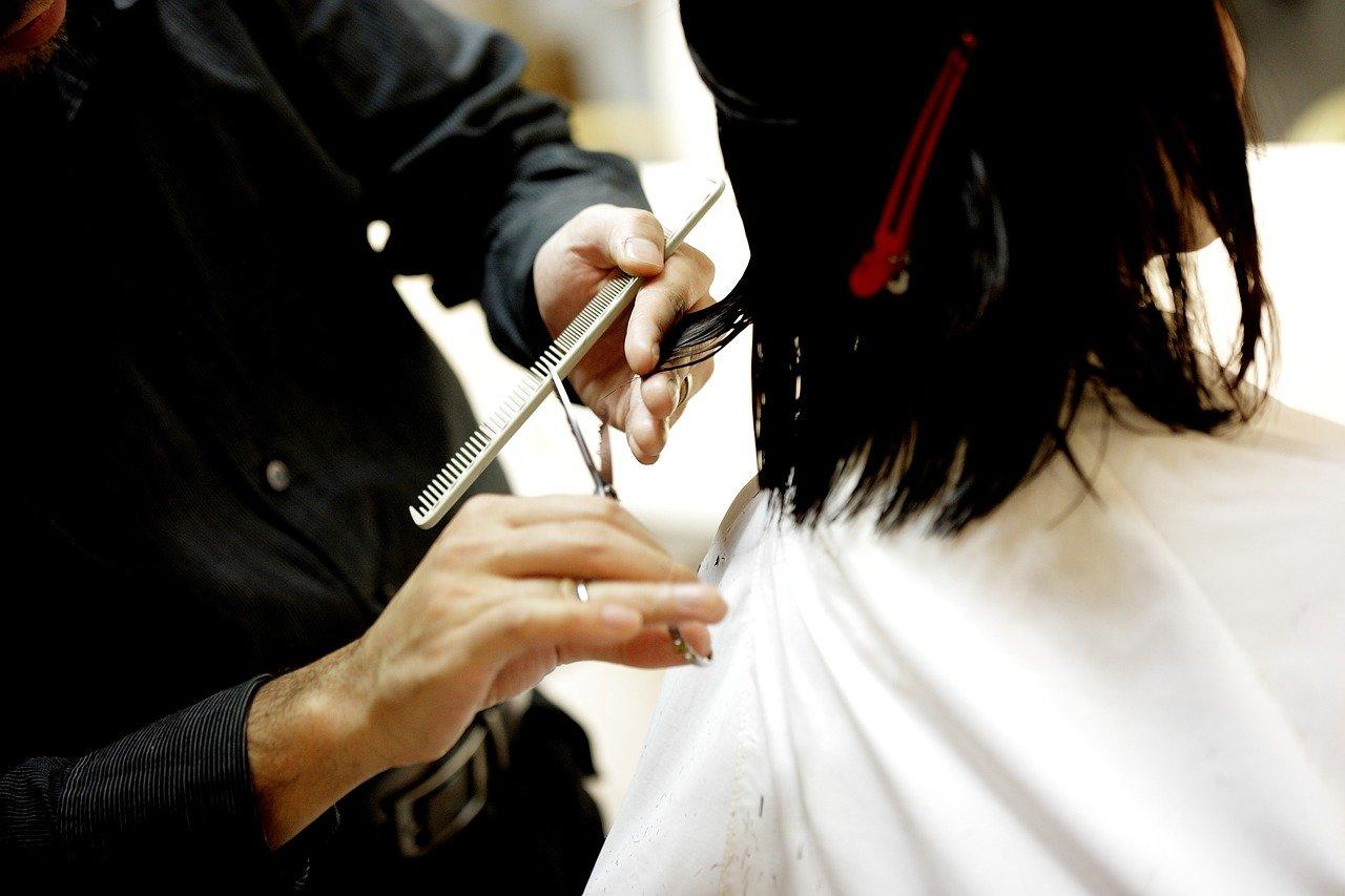 ヘアカット、美容師、美容室