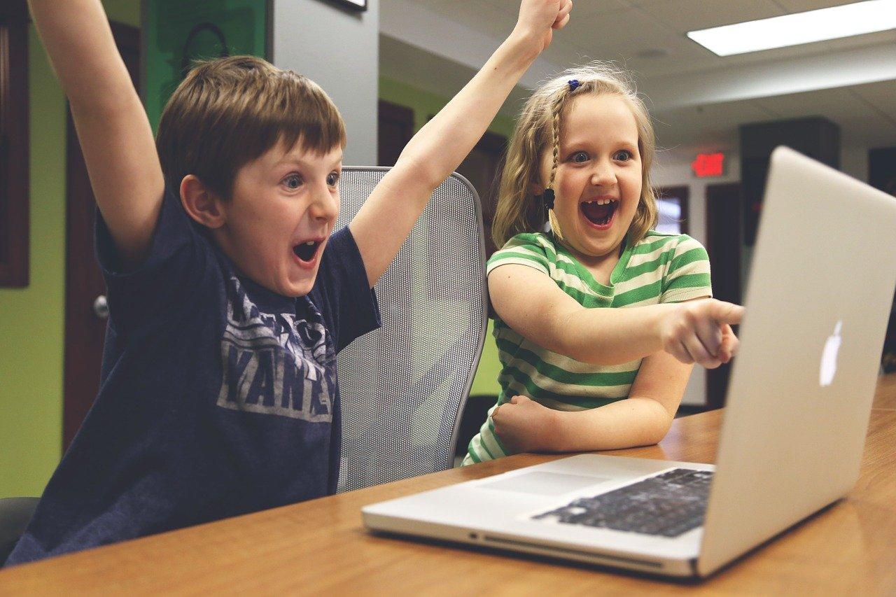 子ども、勝利、成功