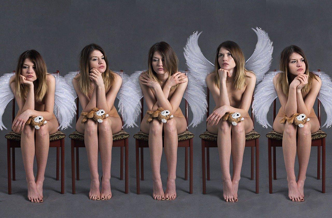 天使、女性