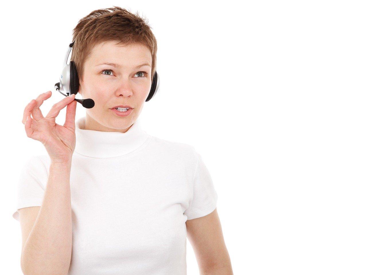 コールセンター、女性