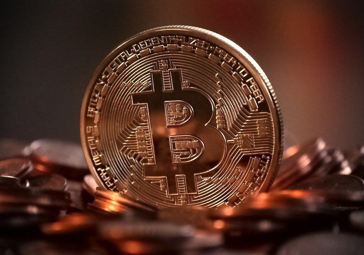 立ってるビットコイン