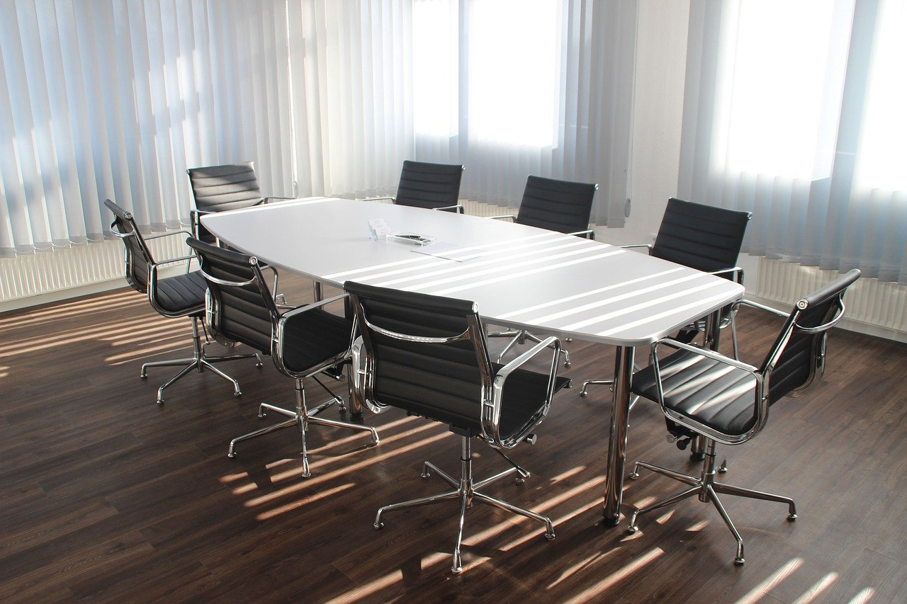 テーブル、ミーティング
