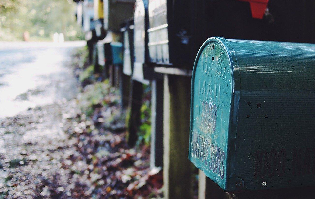 メールボックス、投稿、メール