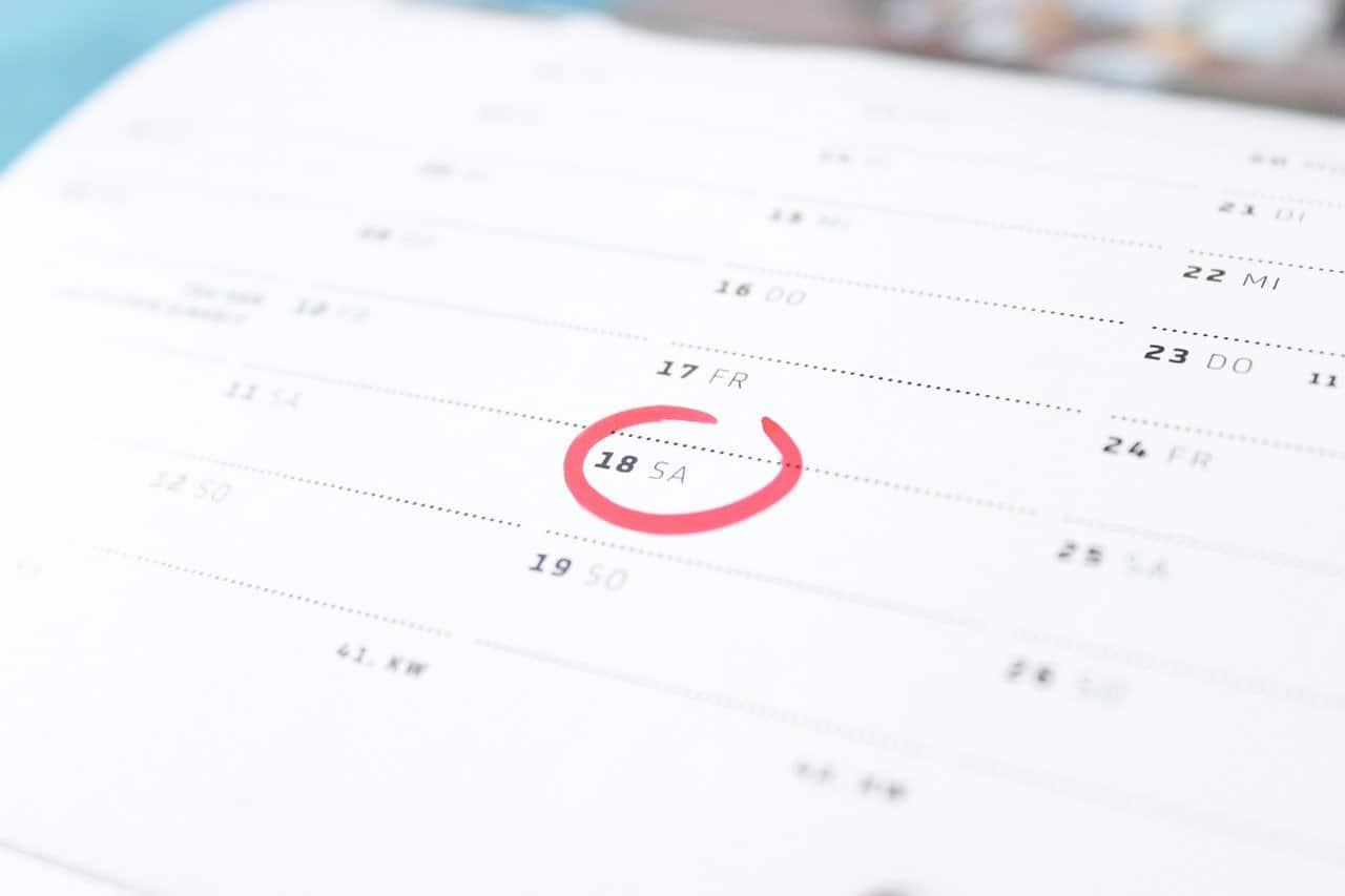 時間、カレンダー