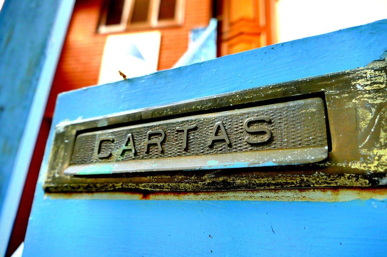 カルタス、メールスロット、青