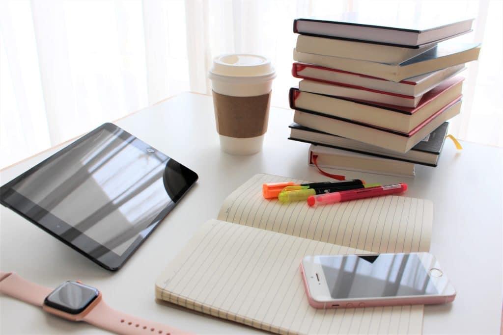 電話と勉強