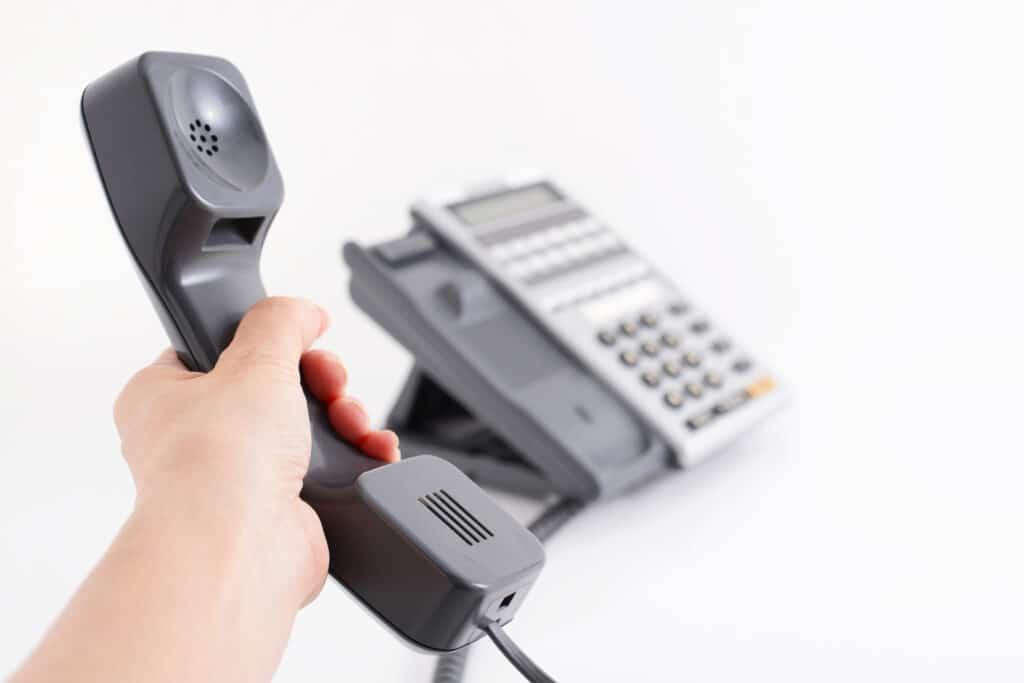 仕事用の電話