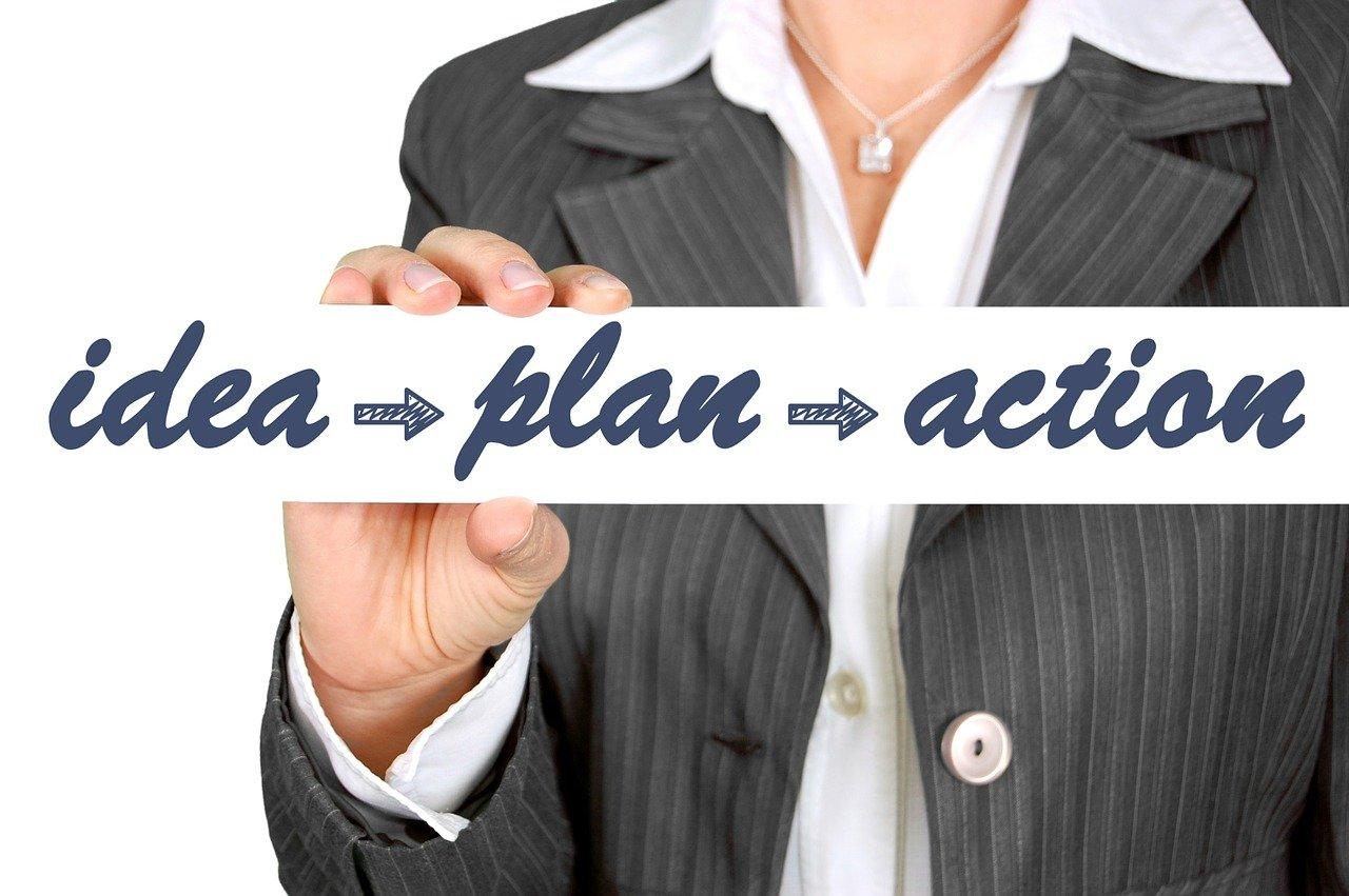 ビジネスアイデア、計画、ビジネスプラン