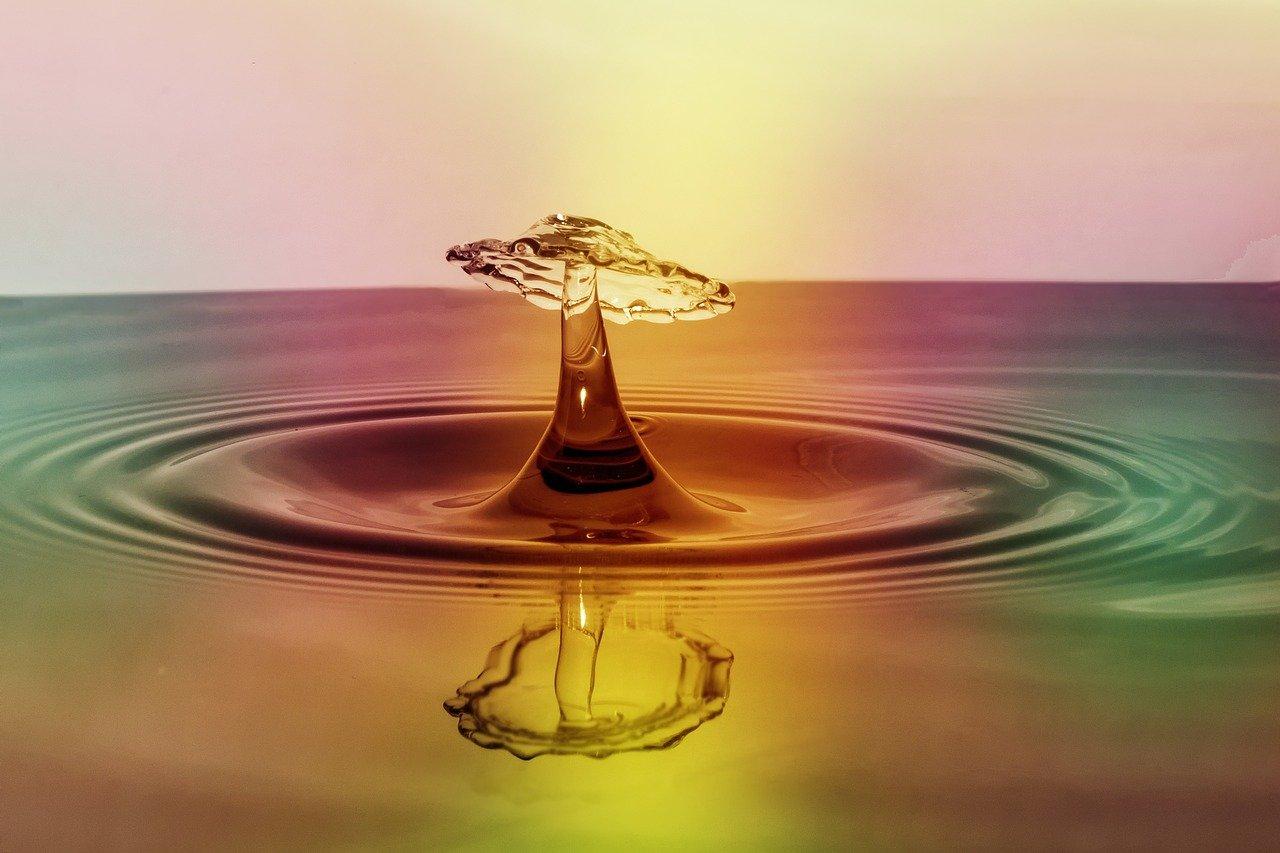 水、色、ポイント