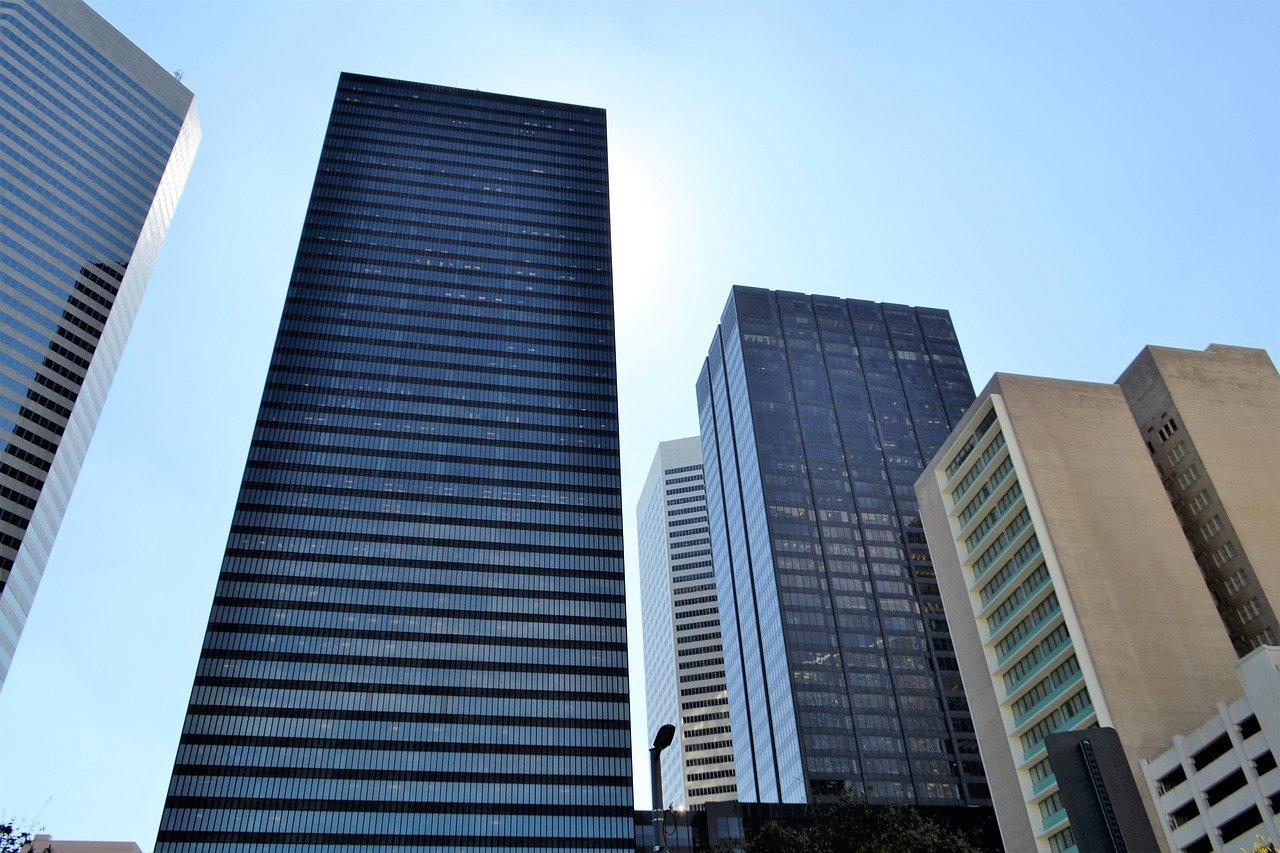 オフィス、建築、ガラス製品
