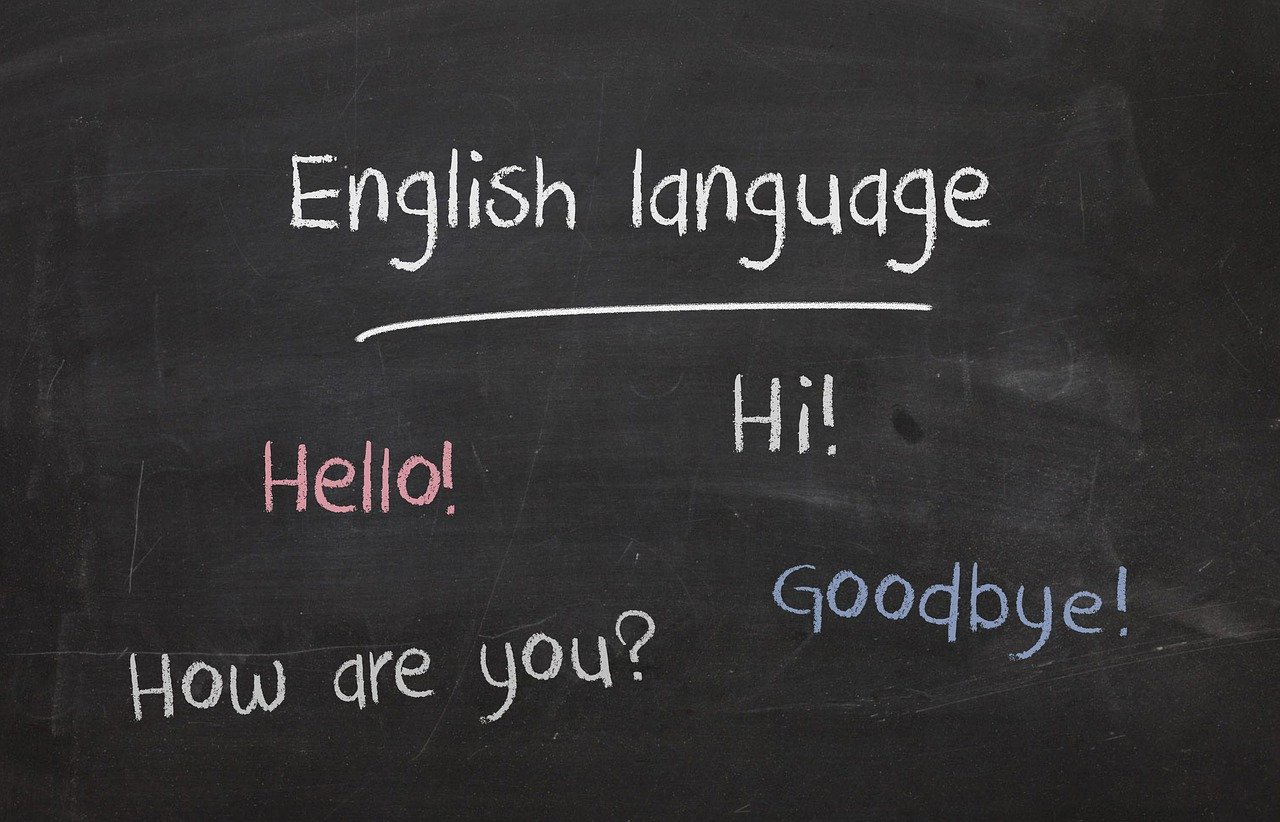 黒板の英語