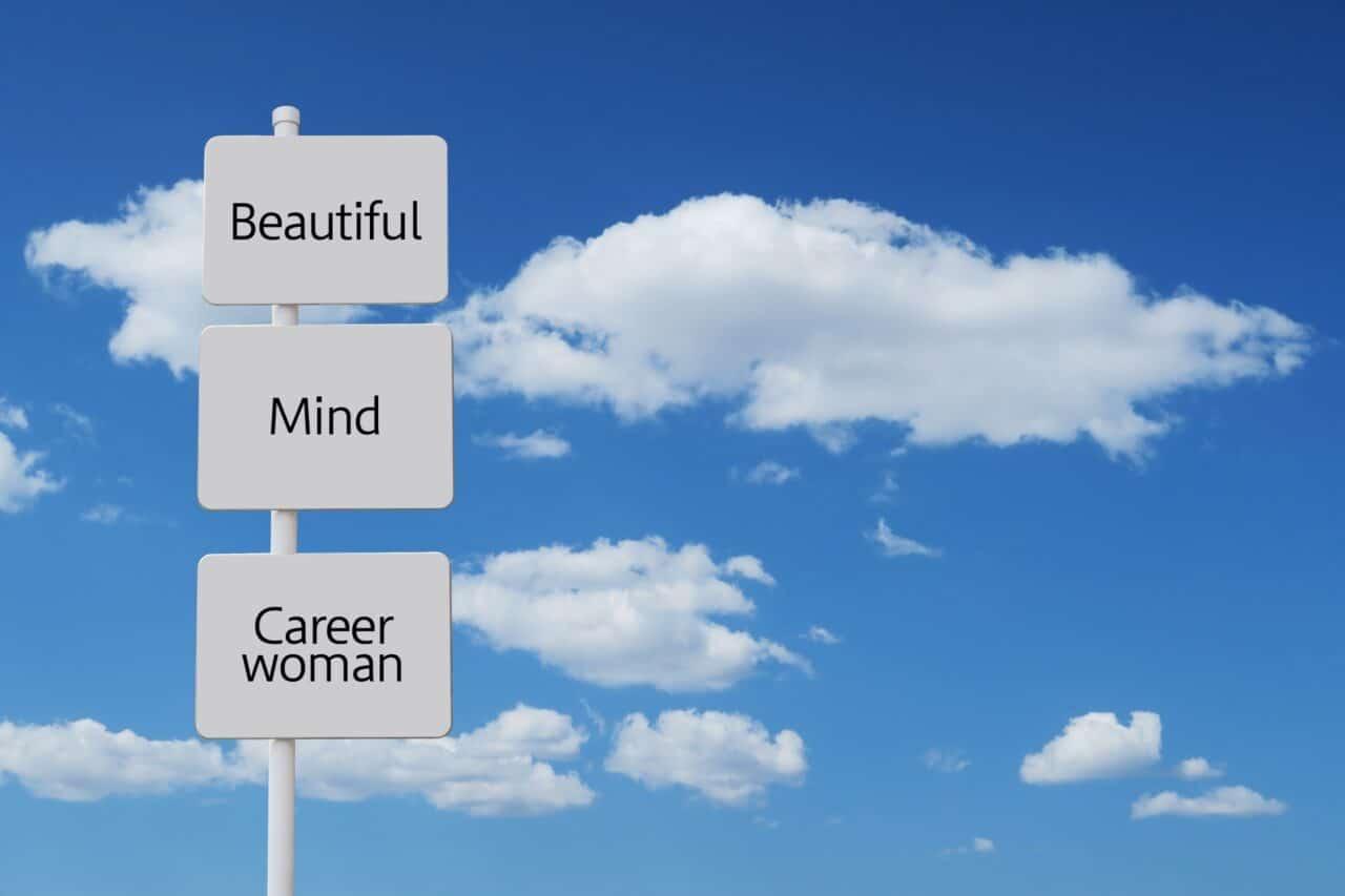 女性のキャリア標識