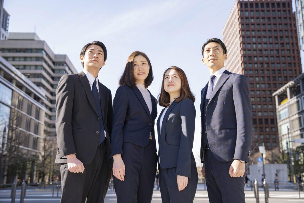 ビジネスパーソンのチーム