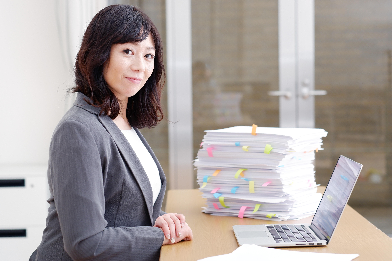 仕事中 女性