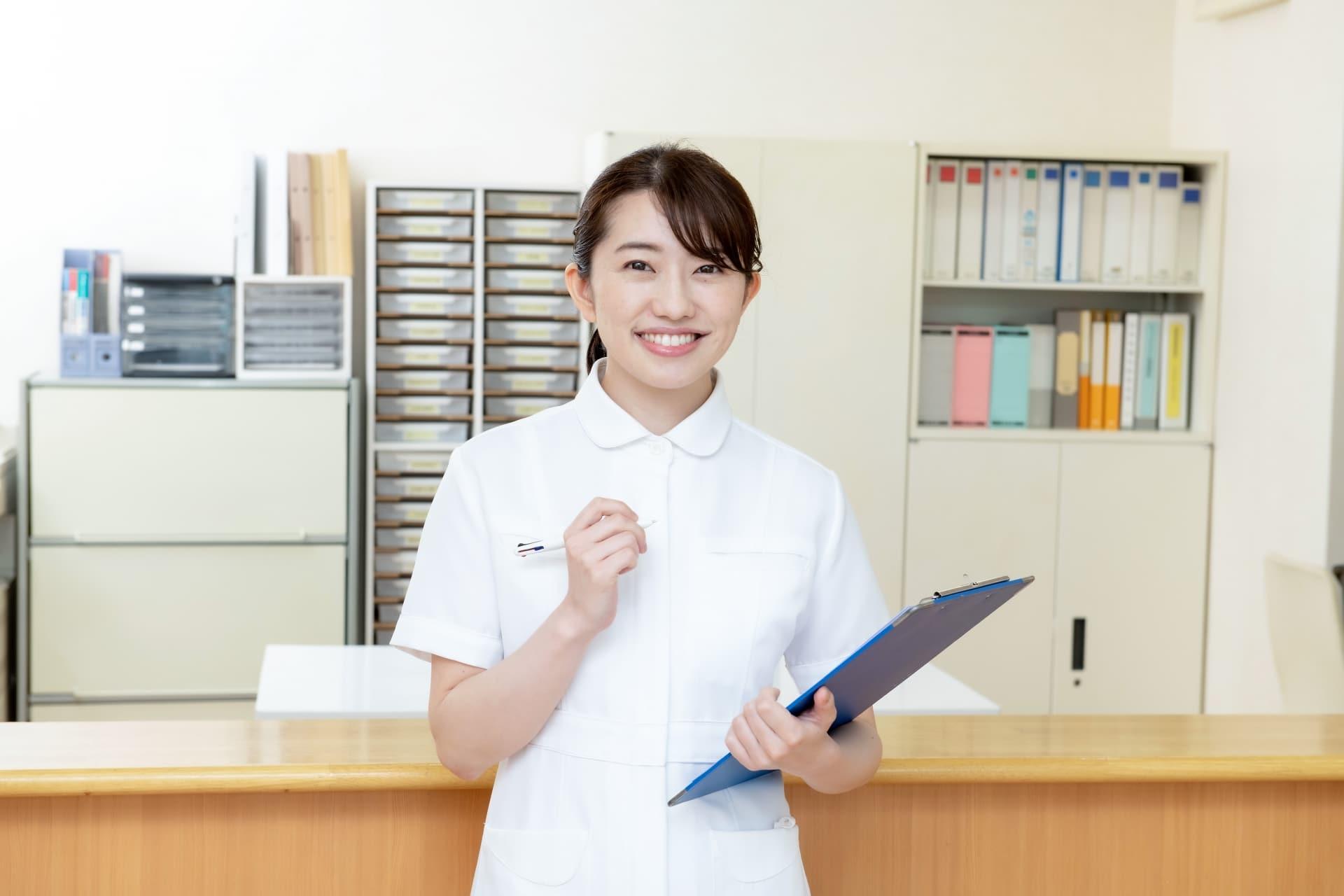 医療事務の女性
