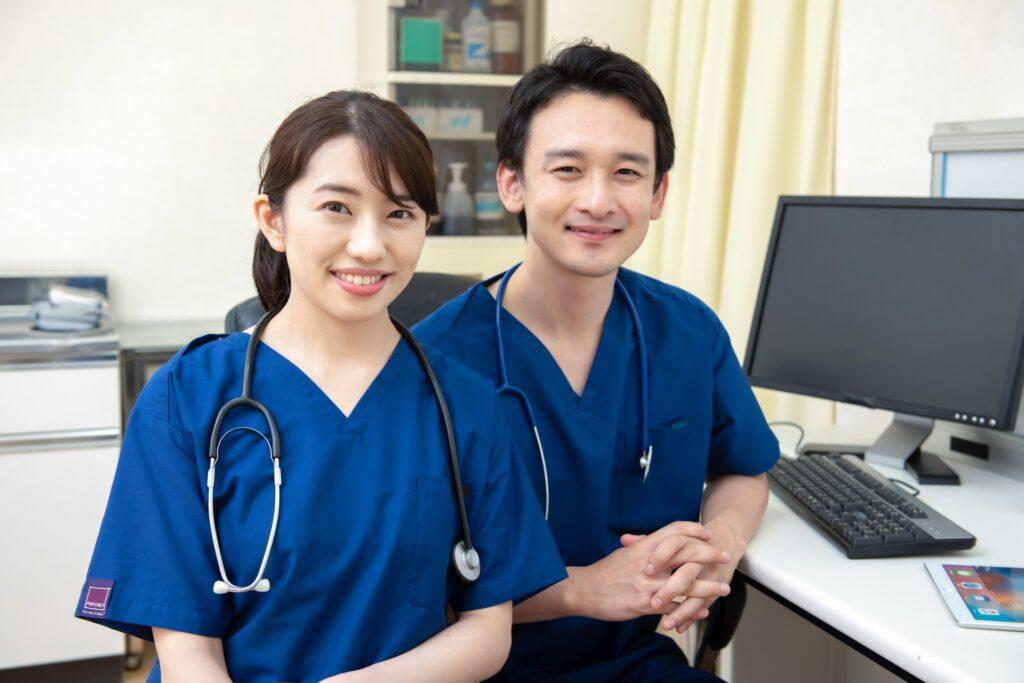 病院、医者、ナース