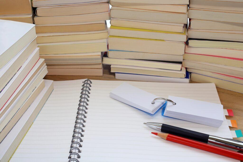 ノートと単語帳