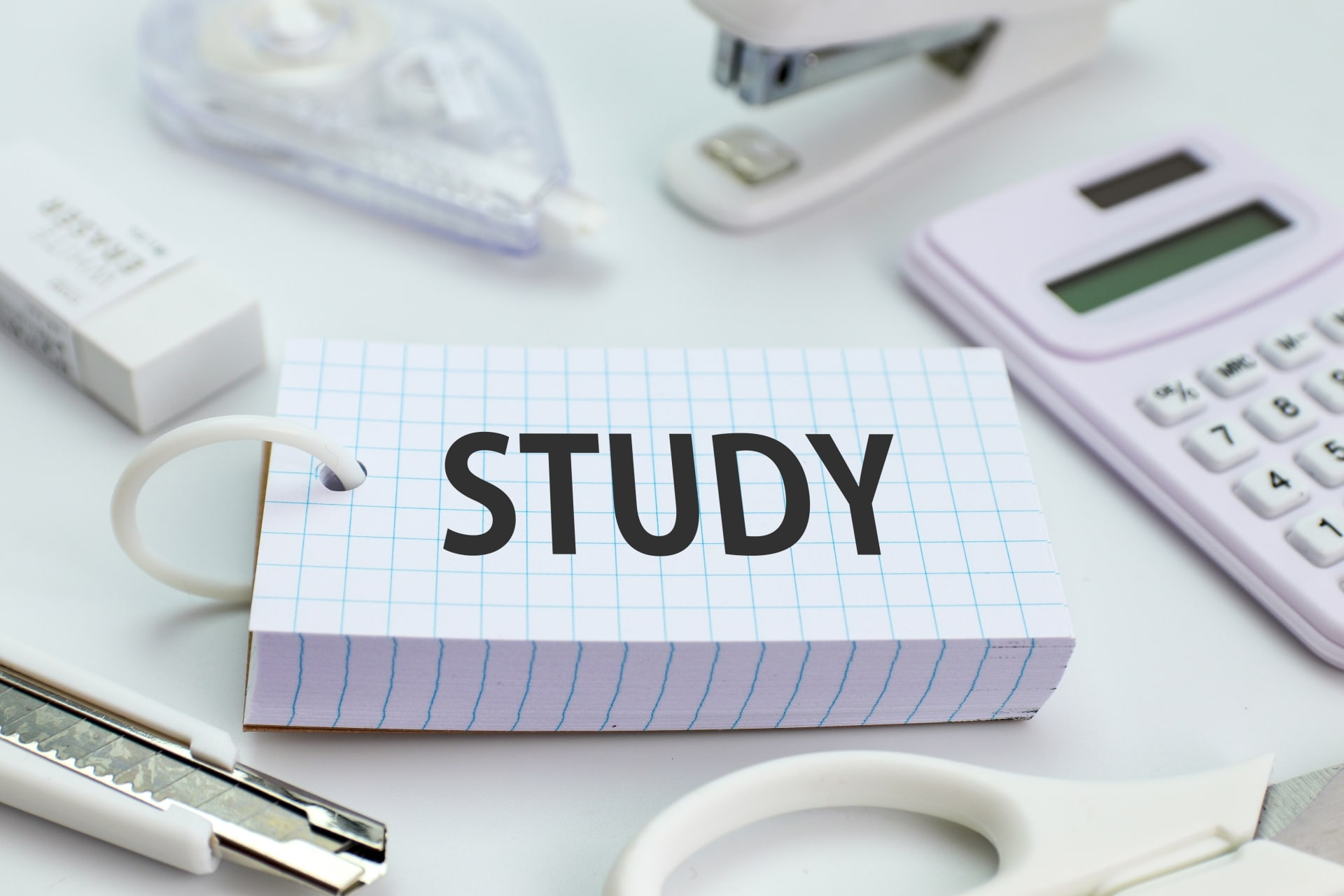 単語帳と文房具