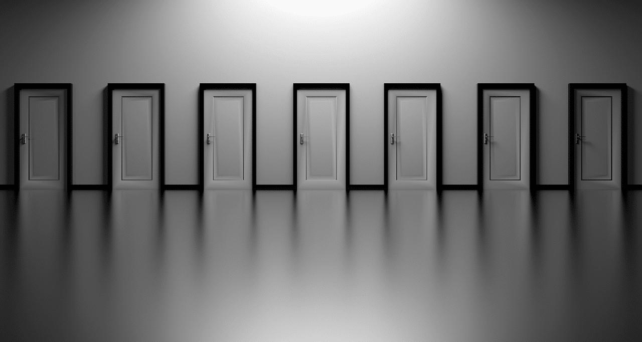 ドア、選択