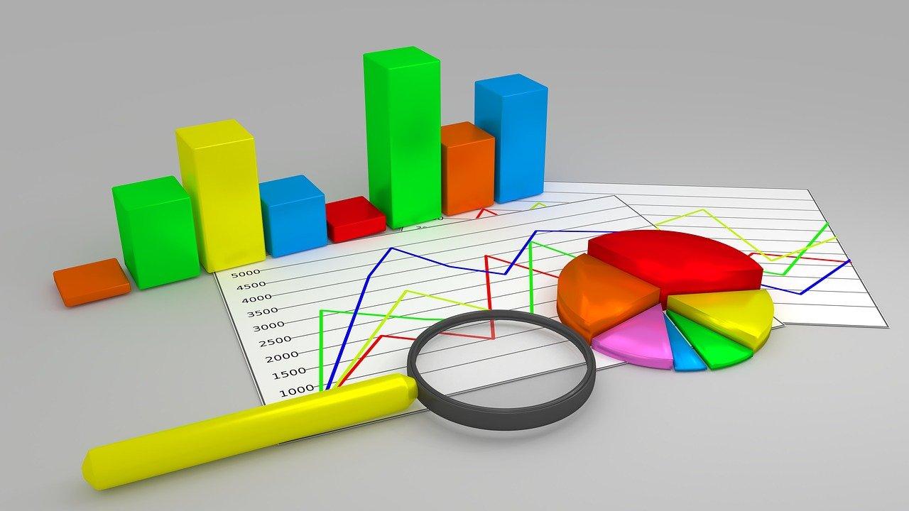 グラフ、統計データ