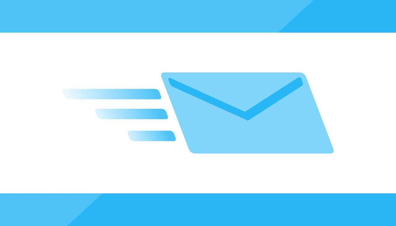 メール、早いサービス