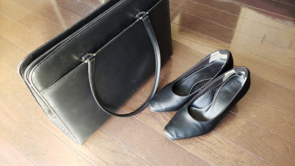 転職、女性、鞄