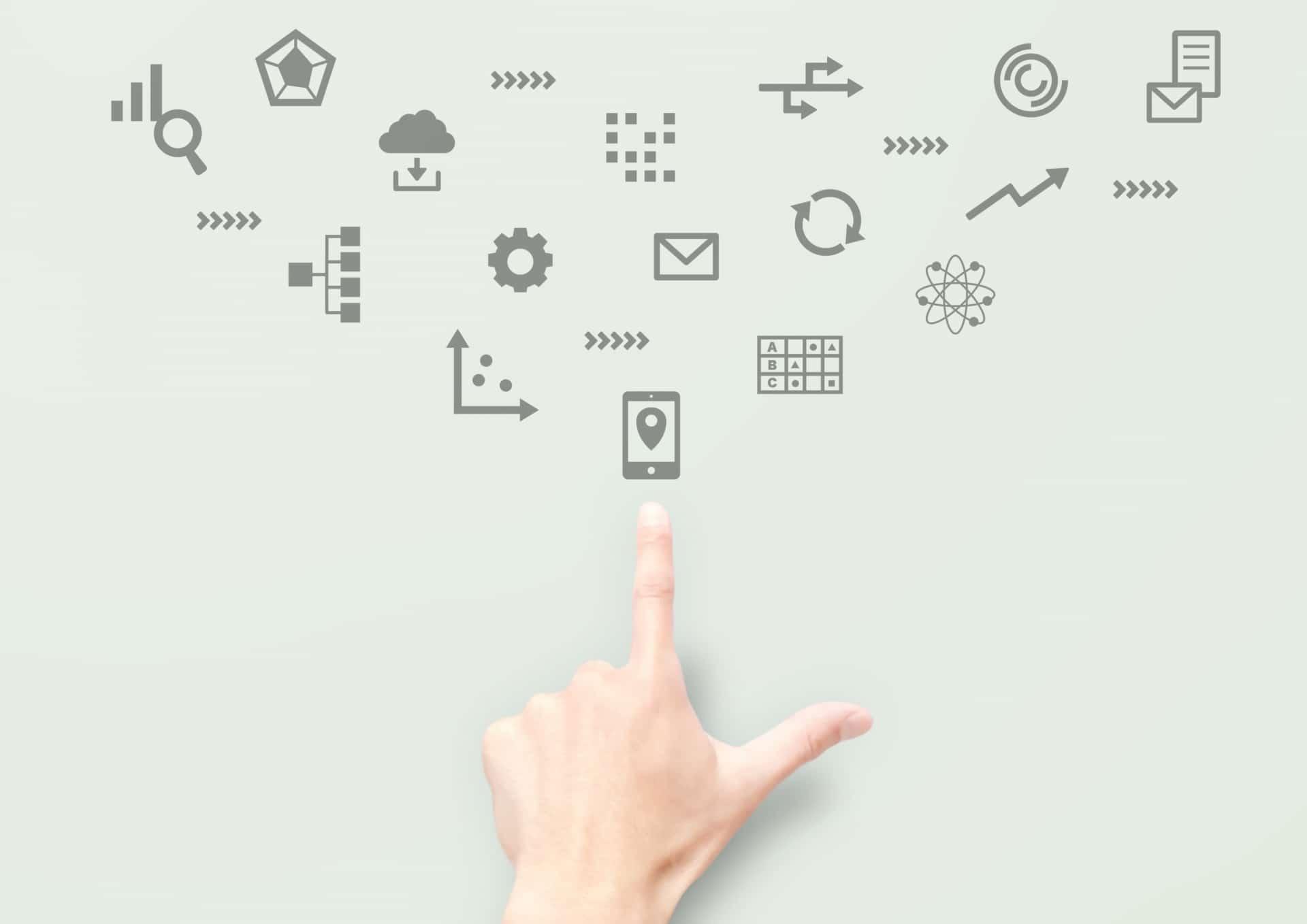 デバイスやネットワークのイメージ
