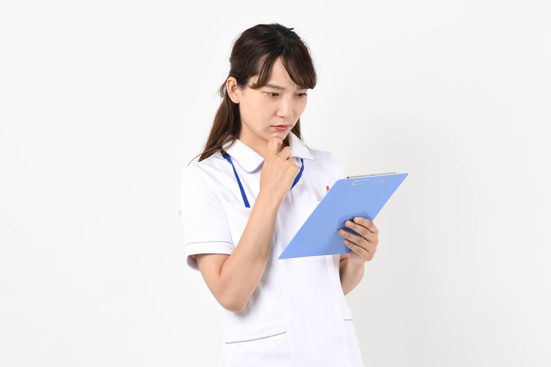 医療従事者の女性