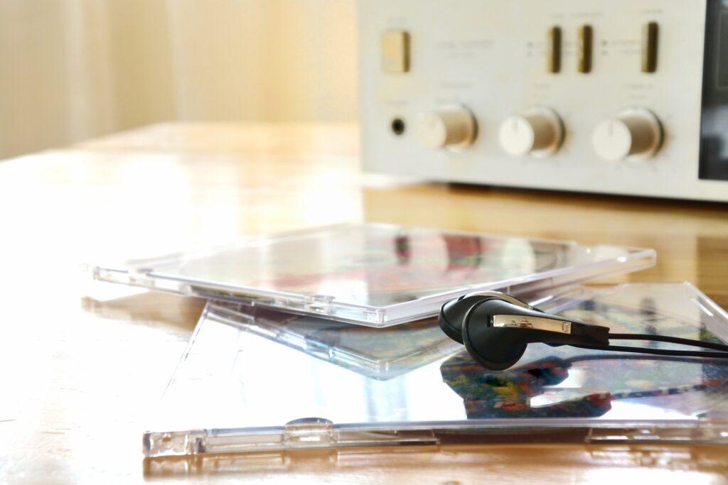 CDデッキ、CD