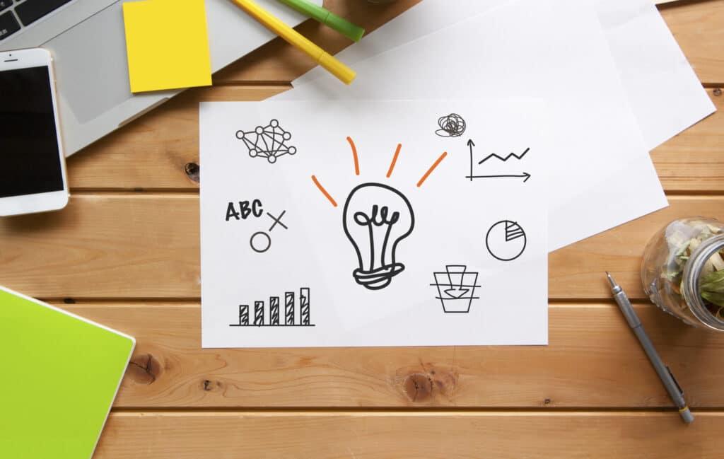 ビジネスデスクのイメージ
