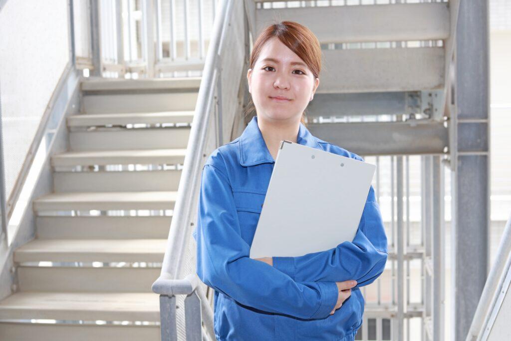 建設業界で働く女性
