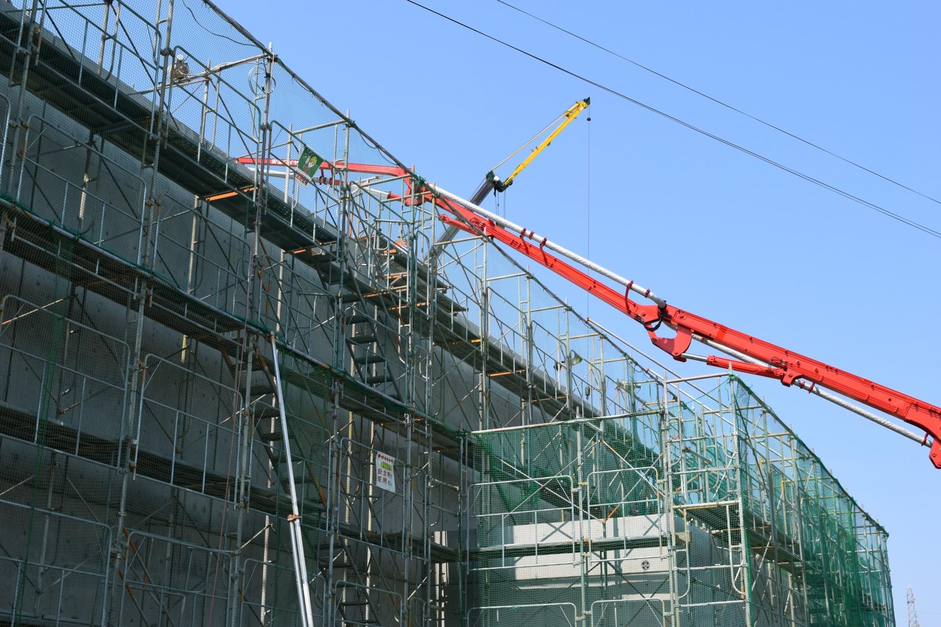 建設工業現場
