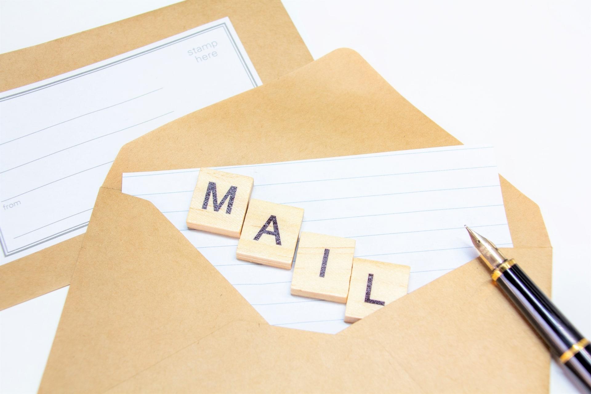 メールの文字