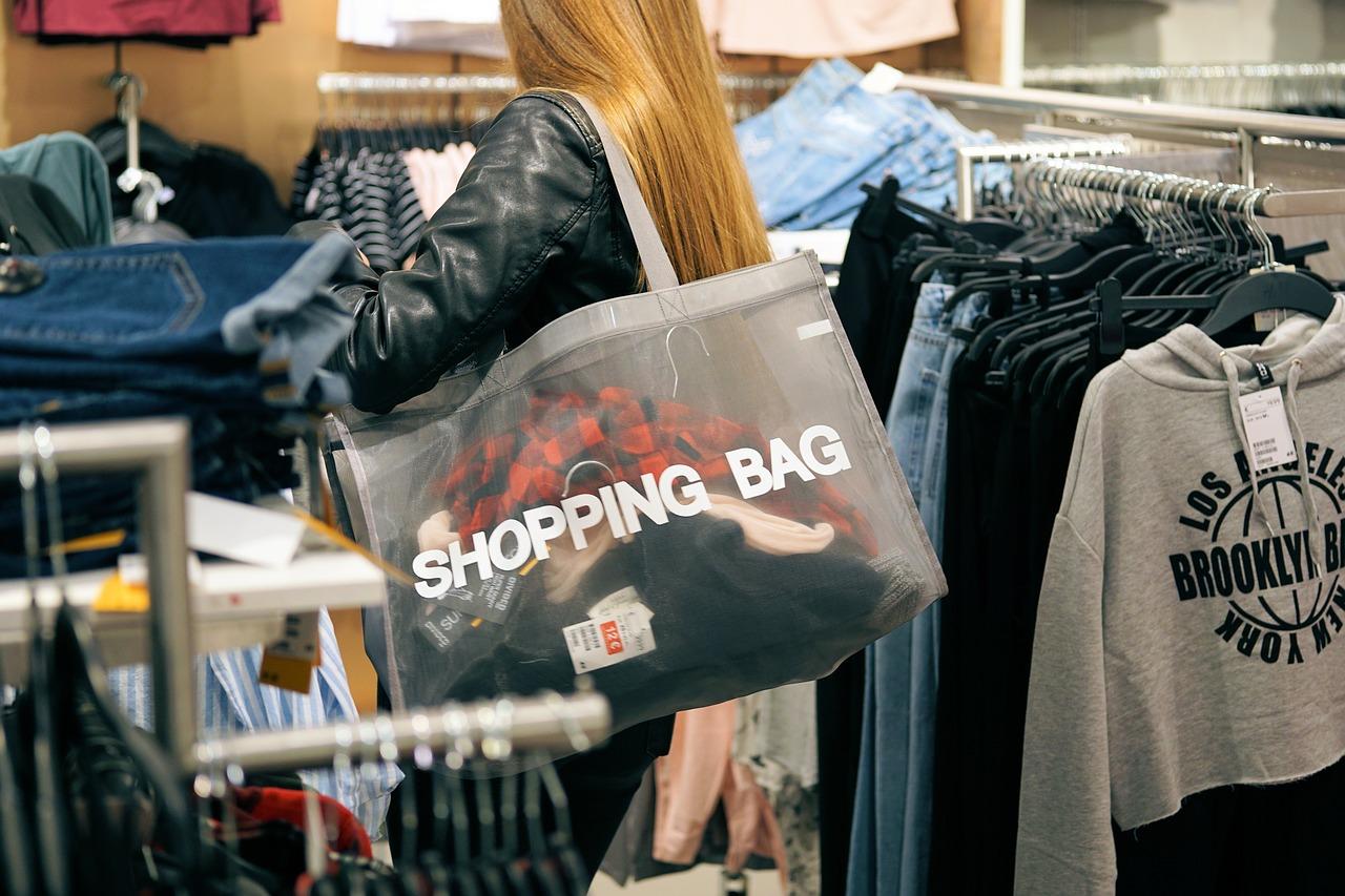 ショッピングバッグの画像