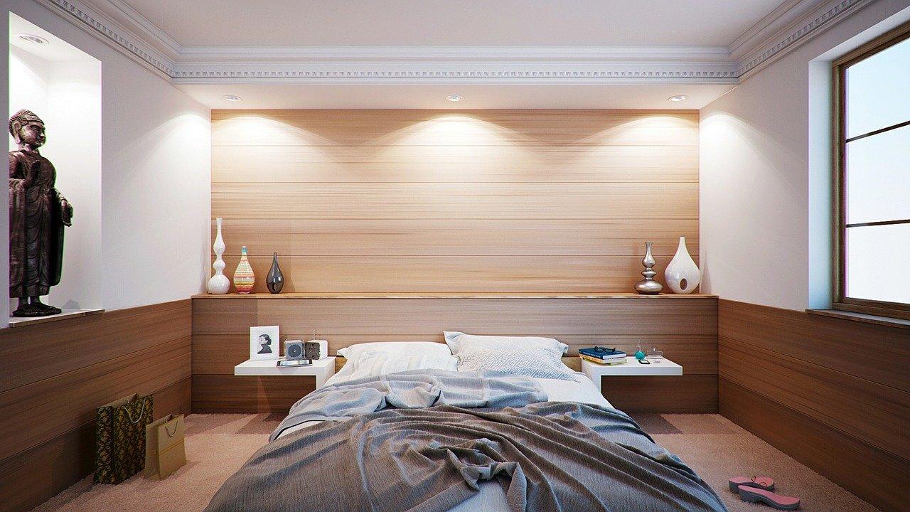 ベッドルームの画像