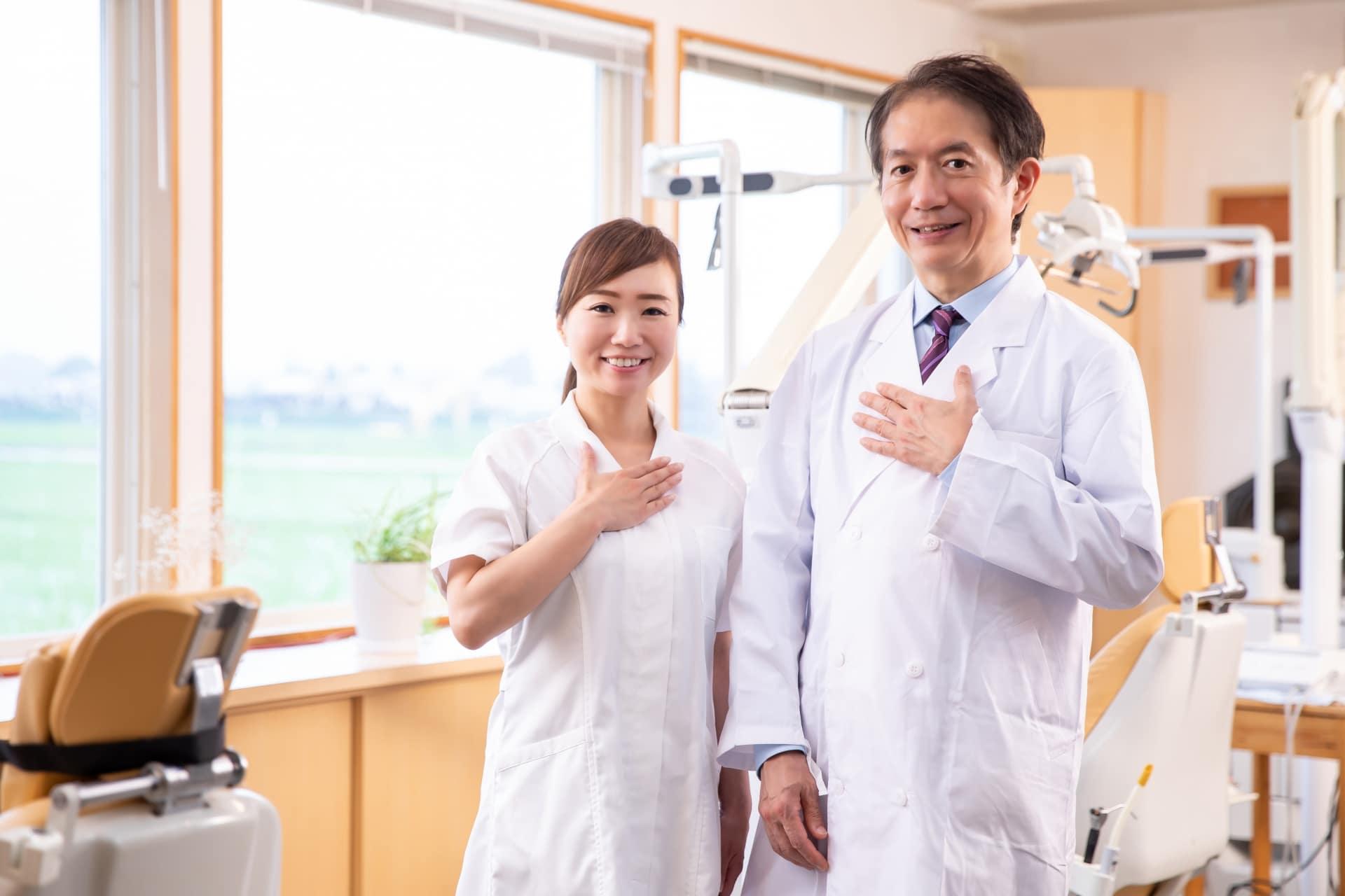 歯科衛生士と歯科医