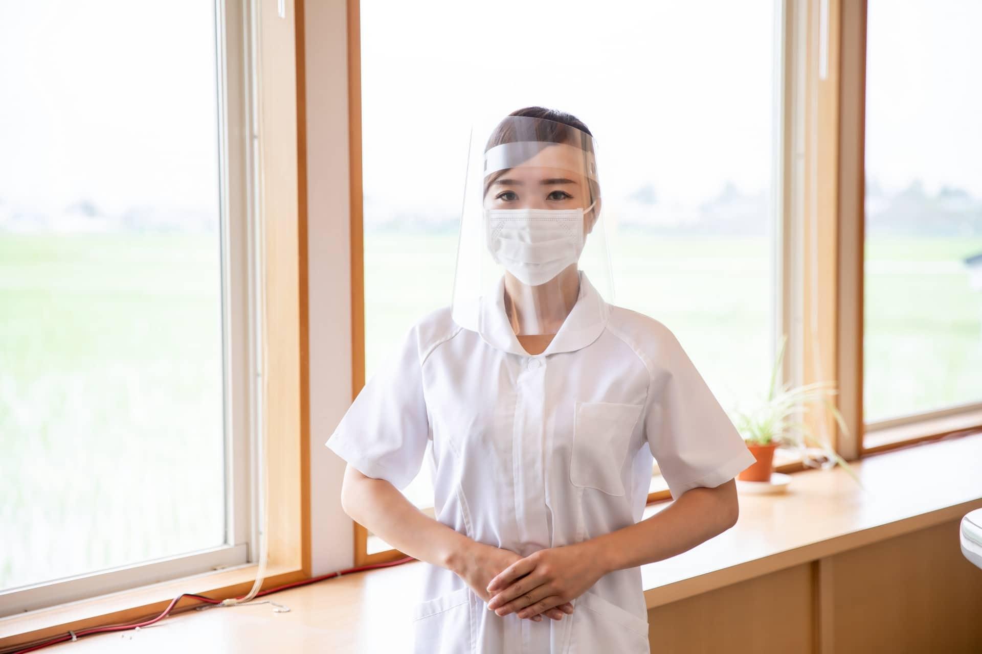 歯科衛生士の女性