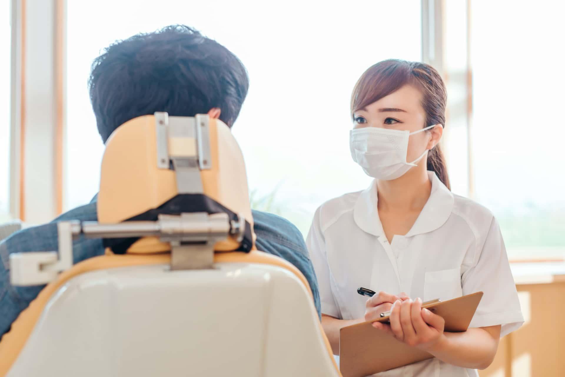 歯科助手,業務