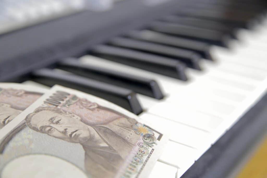 お金とキーボード