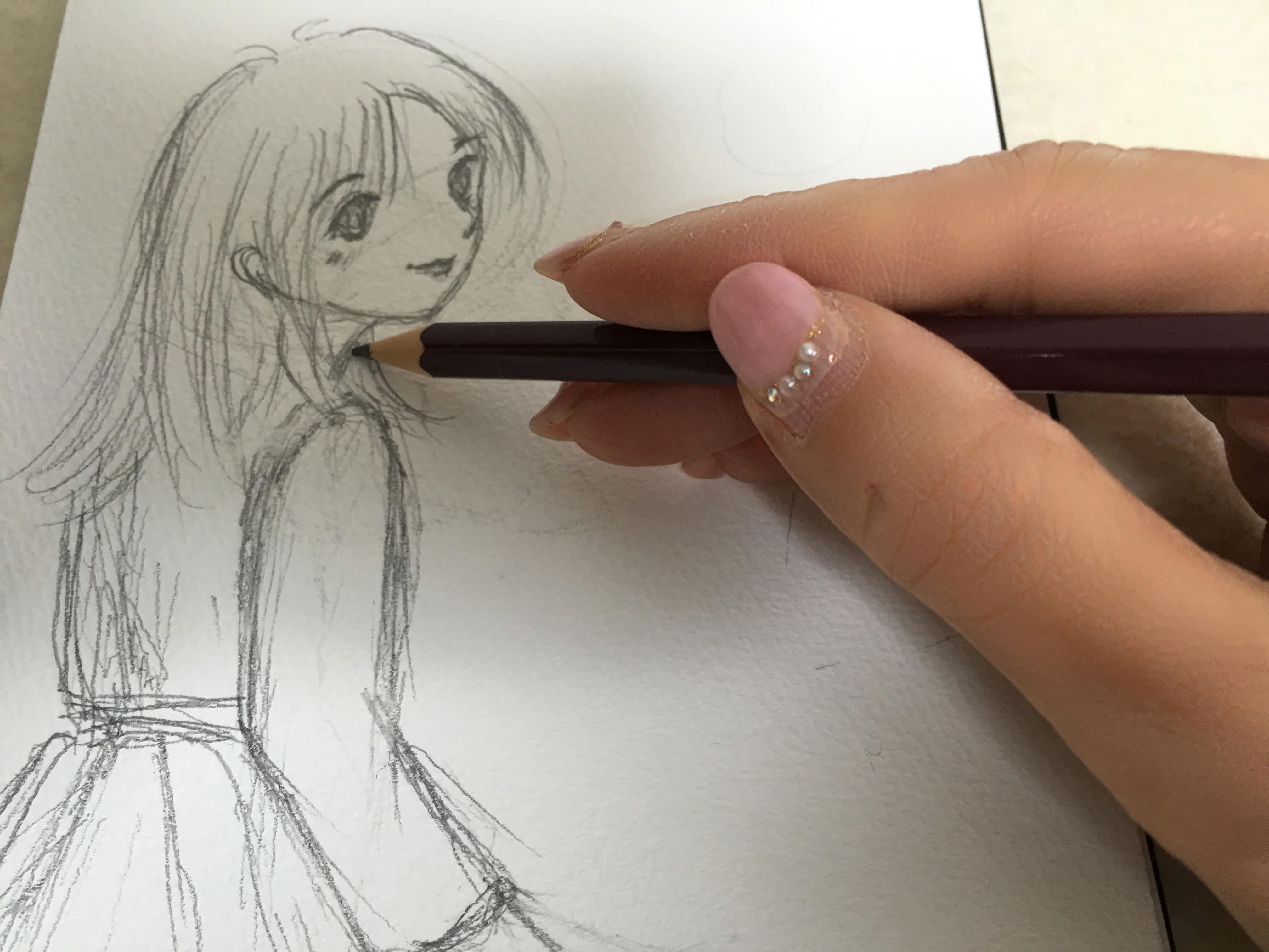マンガを描く